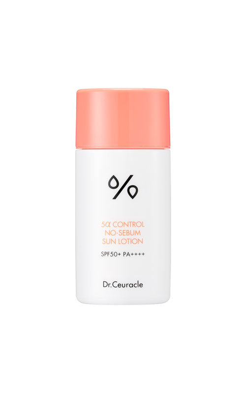 Dr.Ceuracle 5α Control No Sebum Sun Lotion