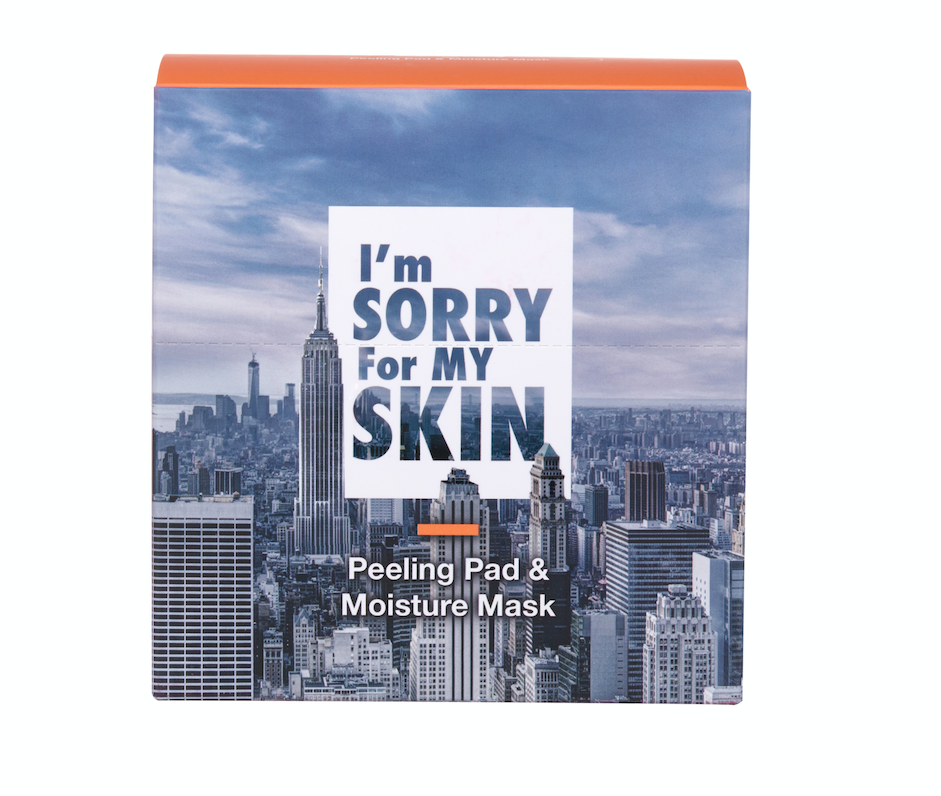 ULTRU I'm Sorry For My Skin Peeling Pad & Moisture Mask