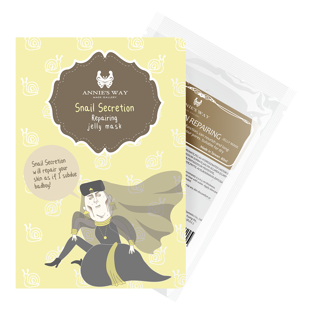 Annie's Way Snail Secretion Repairing Jelly Mask