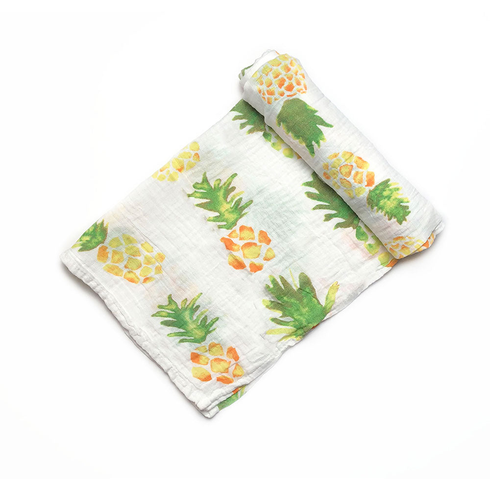 Pineapple Muslin Blanket