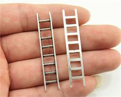 WYSIWYG 6pcs 51x10mm 3 Colors Antique Gold, Antique Silver, Antique Bronze Ladders Pendant Charms For Jewelry Making
