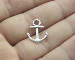 WYSIWYG 20pcs 19x15mm 3 Colors Antique Gold, Antique Silver, Antique Bronze Small Anchor Charm For Jewelry Making Anchor Lot