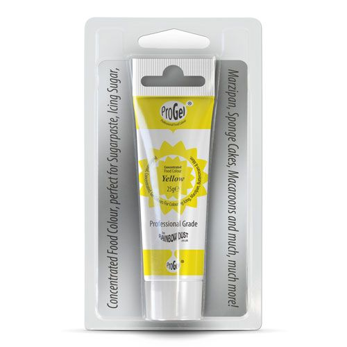 Rainbow Dust Progel, Yellow