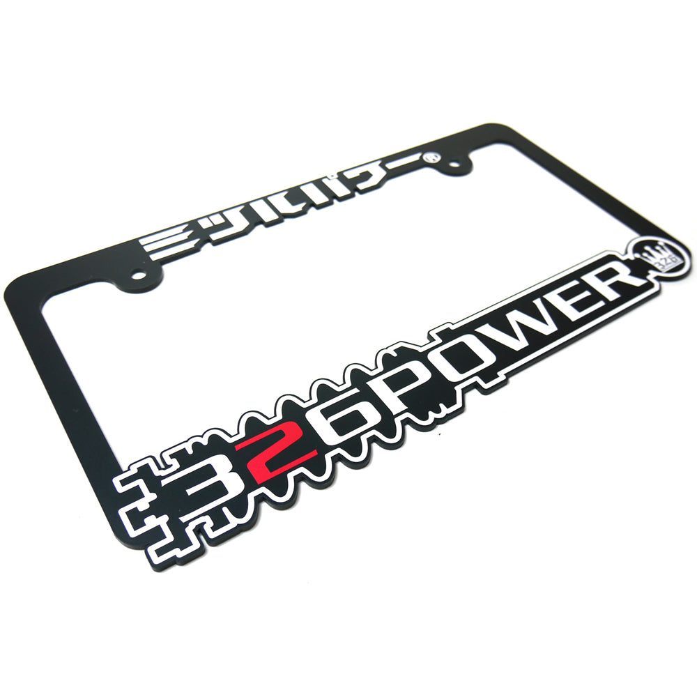 326POWER 2018 Damper Number Plate Frame