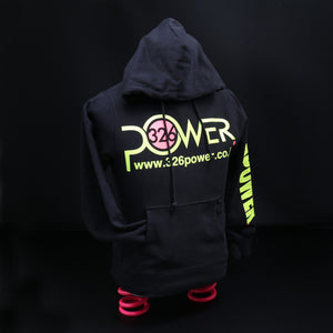 326POWER 2019 Hoodie (Black/Yellow)