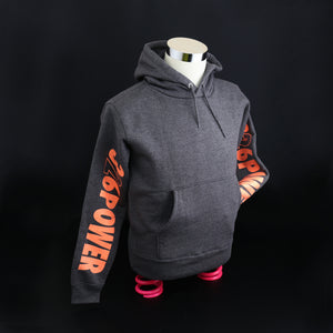 326POWER 2019 Hoodie (Grey/Orange)