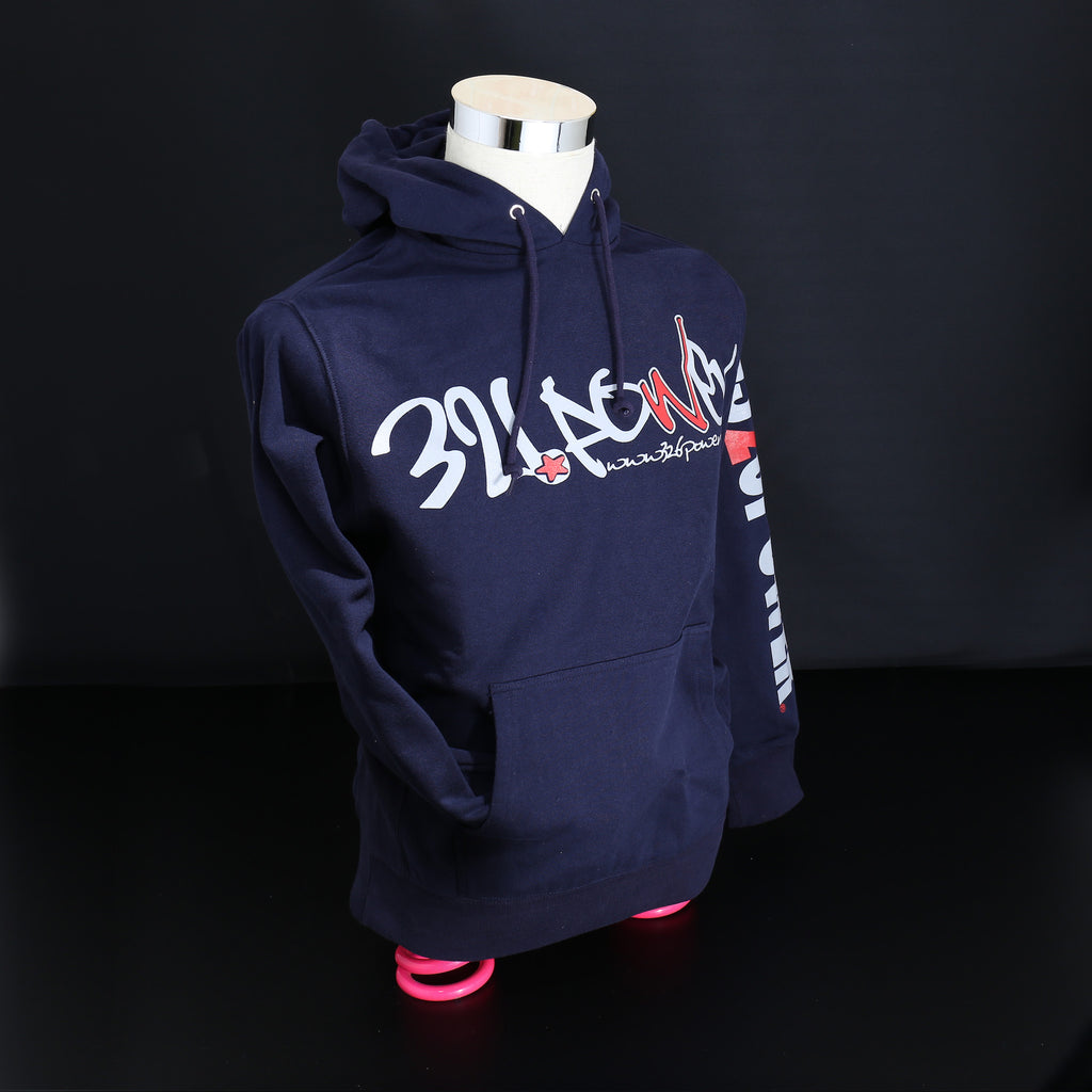 326POWER 2019 Hoodie (Navy/Grey)
