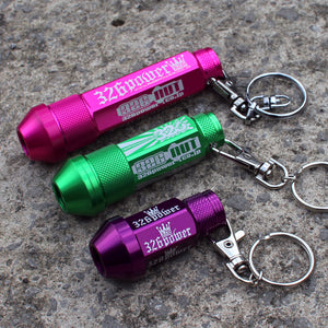 326POWER Wheel Lug Nut Keyring