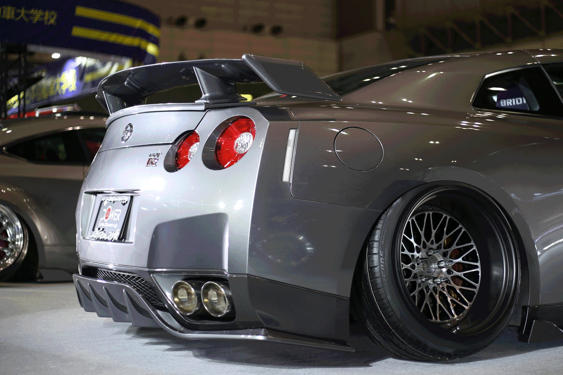 326POWER 3D☆STAR Lip Kit for Nissan R35 GT-R