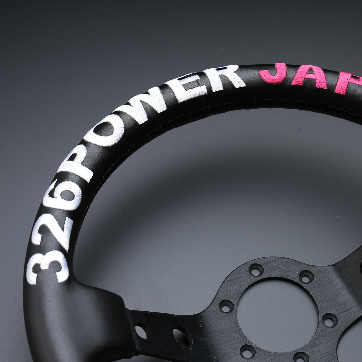 326POWER JAPAN Rally Quick Steering Wheel