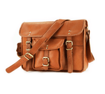 Leather Messenger Bag - Boston - Vintage Leather