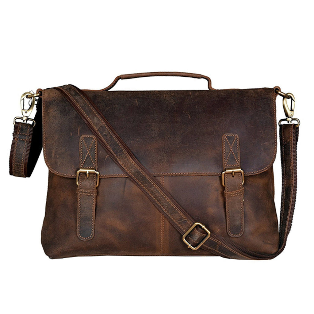 Leather Messenger Bag - Cordoba - Vintage Leather