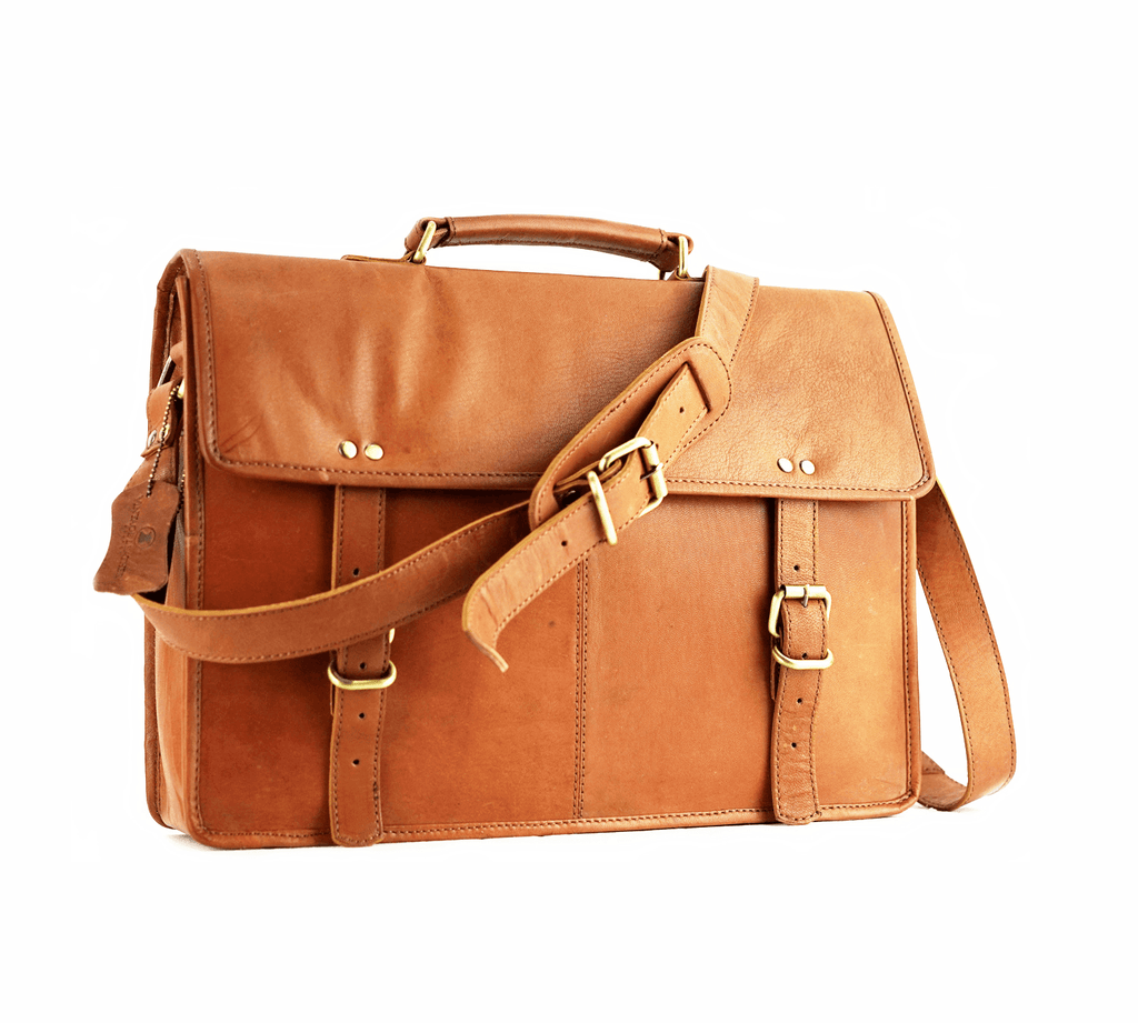 Leather Messenger Bag - Sydney - Vintage Leather