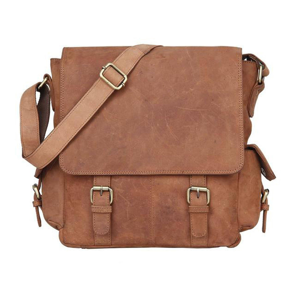 Leather Satchel - Regina - Vintage Leather