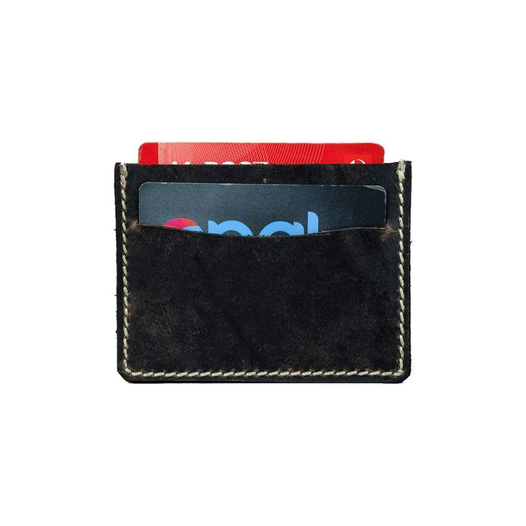 Leather Credit Card Wallet - Jack - Vintage Leather