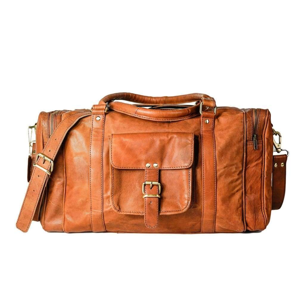 Leather Duffle Bag - Austin - Vintage Leather