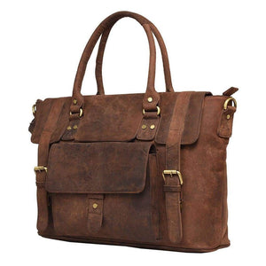 Leather Handbag - Verona - Vintage Leather