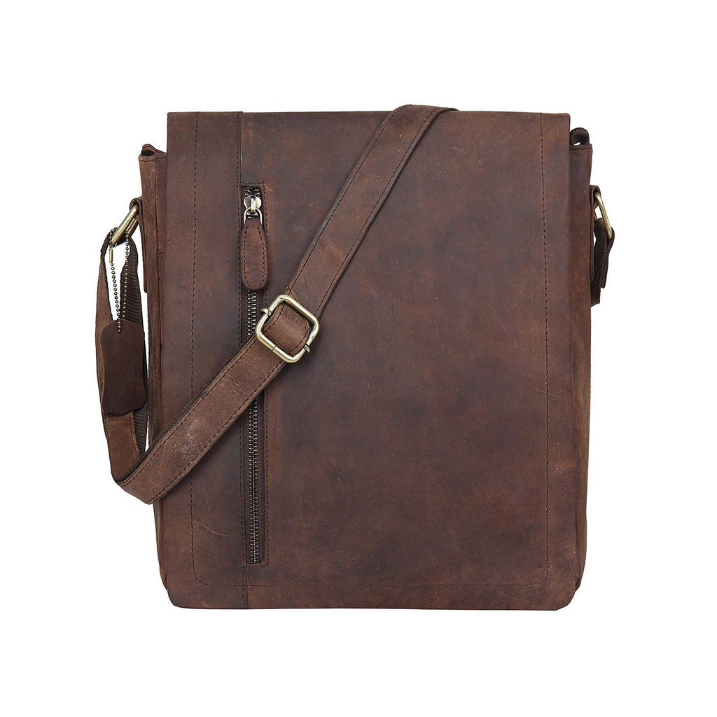 Leather Satchel Bag - Dayton - Vintage Leather