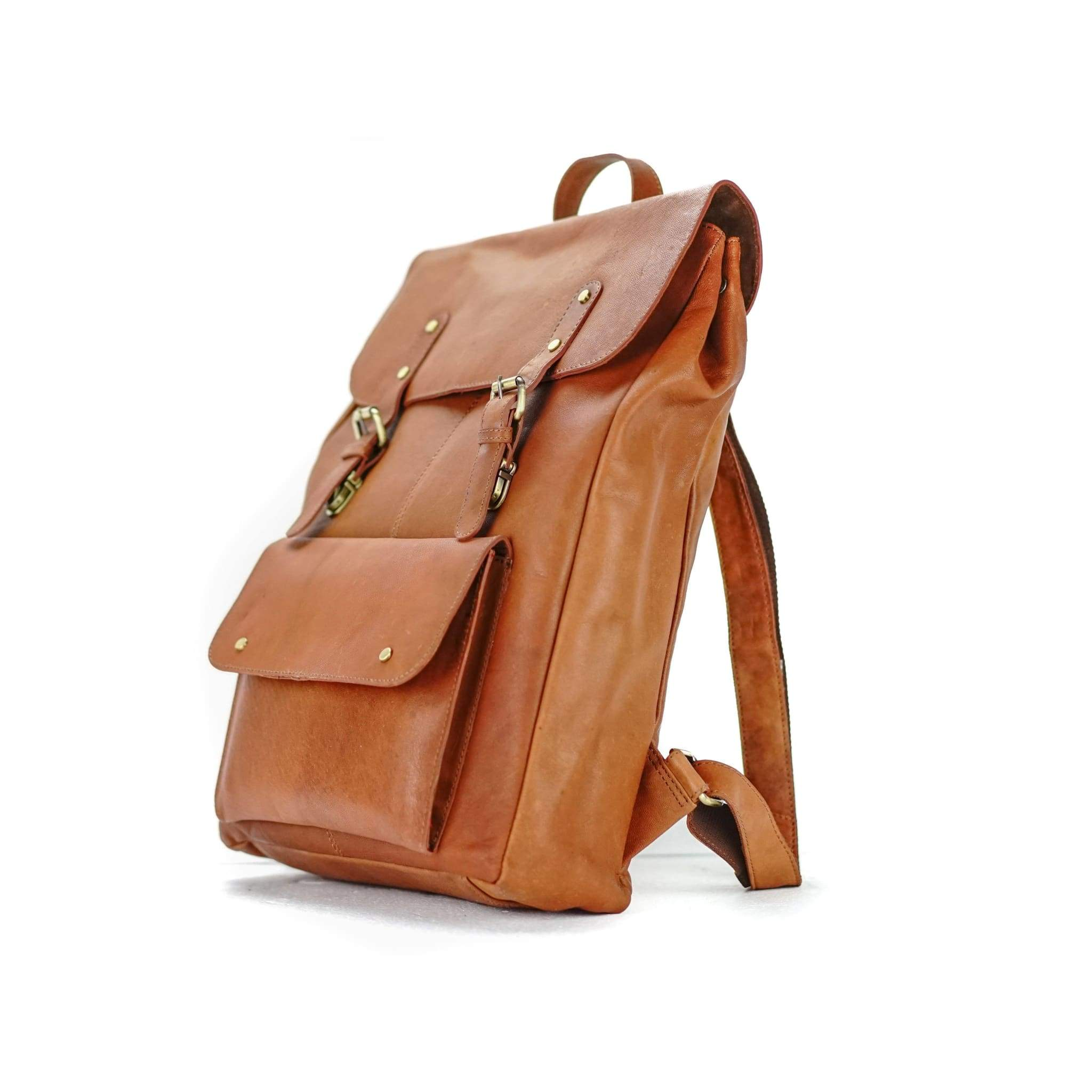 Rusthide | Leather Backpack - Lorenzo / Free Shipping: Rusthide.com
