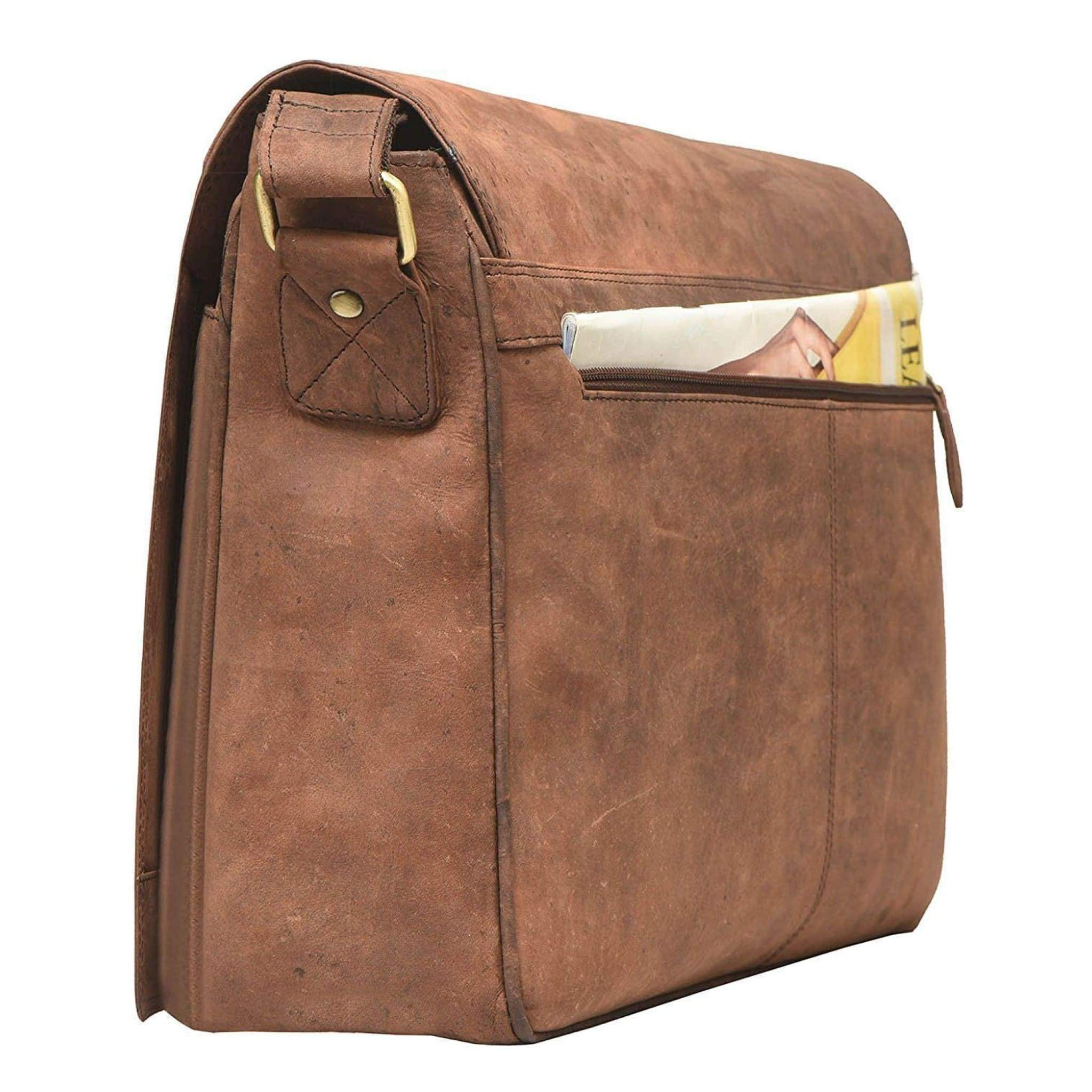 Rusthide | Leather Laptop Bag - Bronson / Free Shipping: Rusthide.com