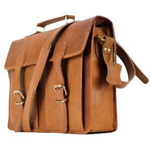 Rusthide | Leather Messenger Bag - Hanford / Free Shipping: Rusthide.com