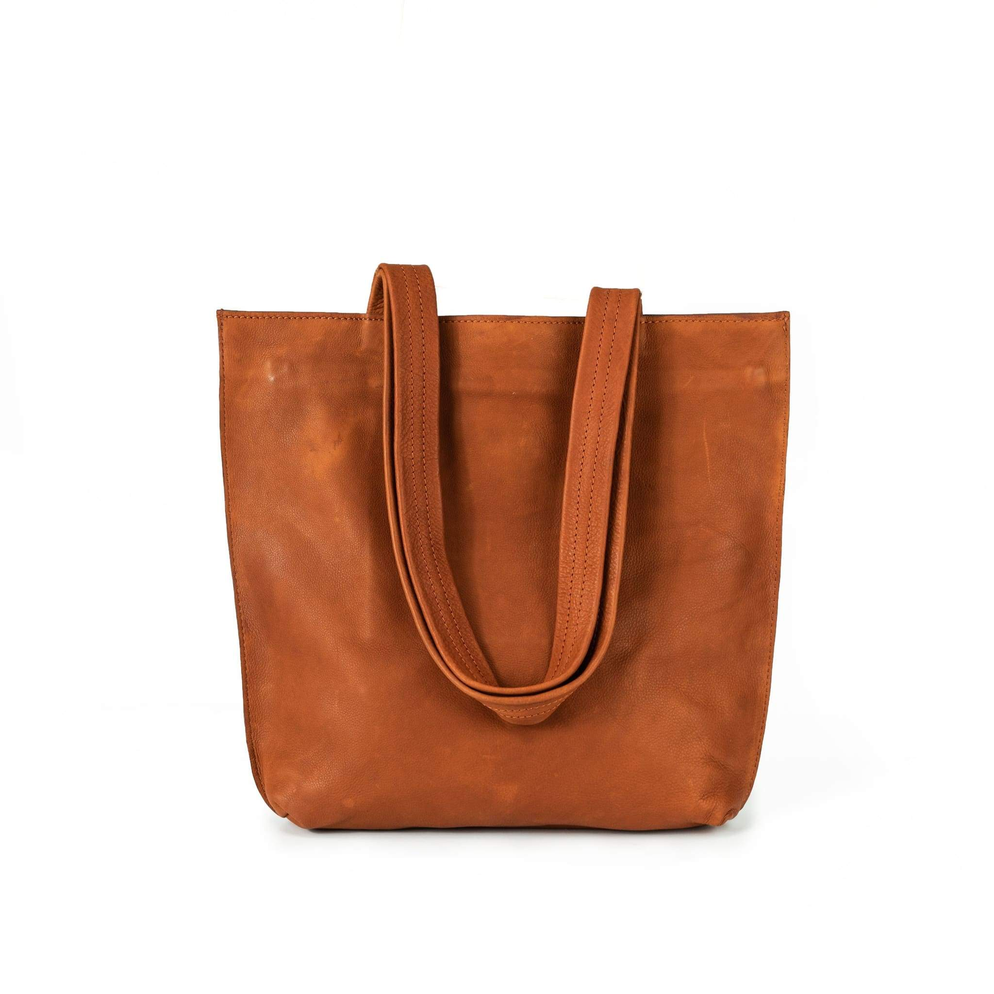 Rusthide | Leather Tote - Sorrel / Free Shipping: Rusthide.com