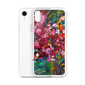 Pile of Peonies Slim iPhone Case