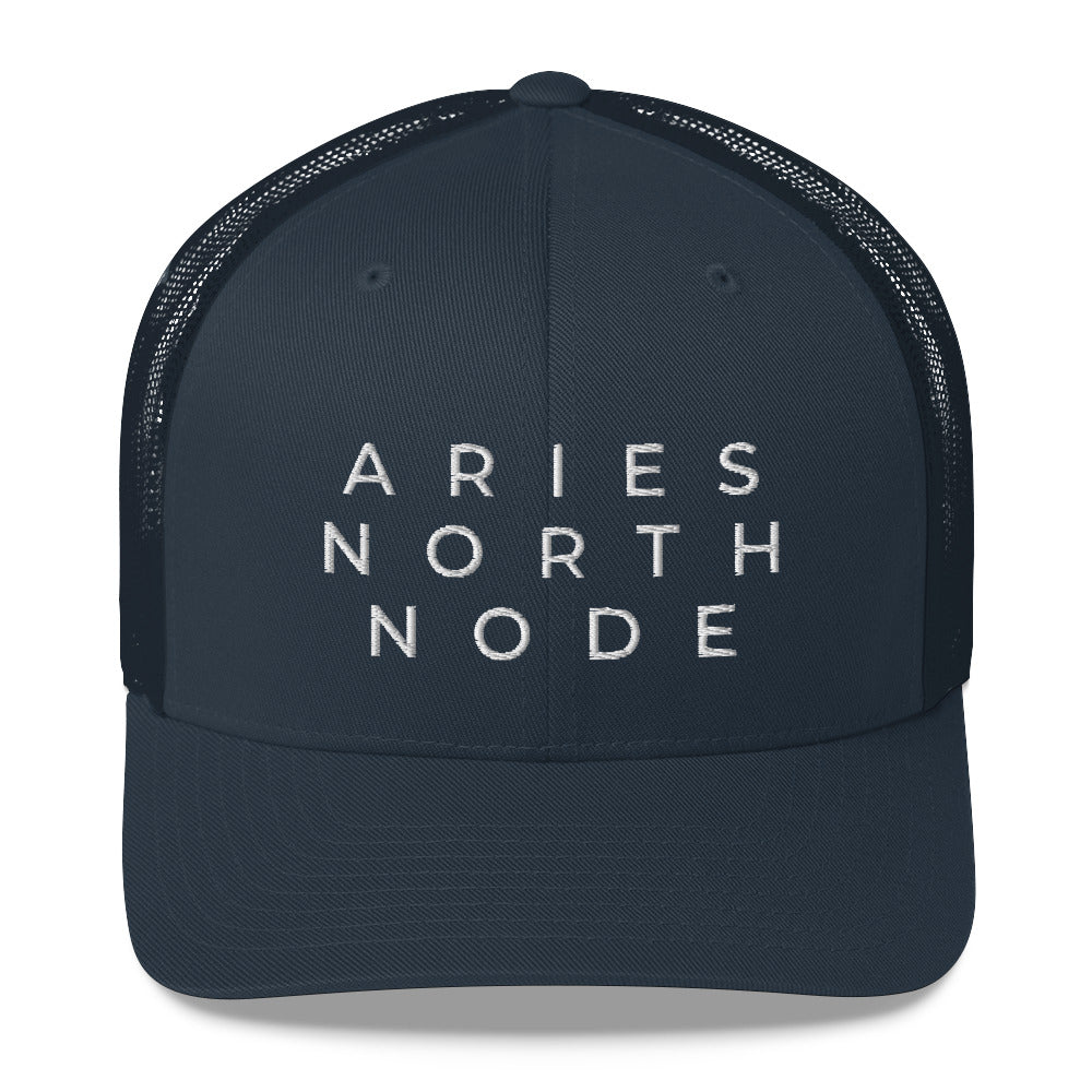 Aries North Node Trucker