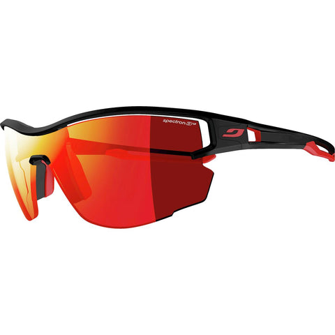 Julbo Aero Sunglasses Black Red Spectron 3CF