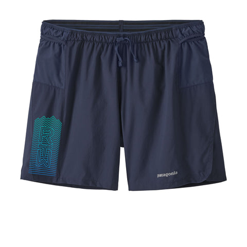Run The Whites Men's Patagonia Strider Pro Shorts 5 in (Navy)