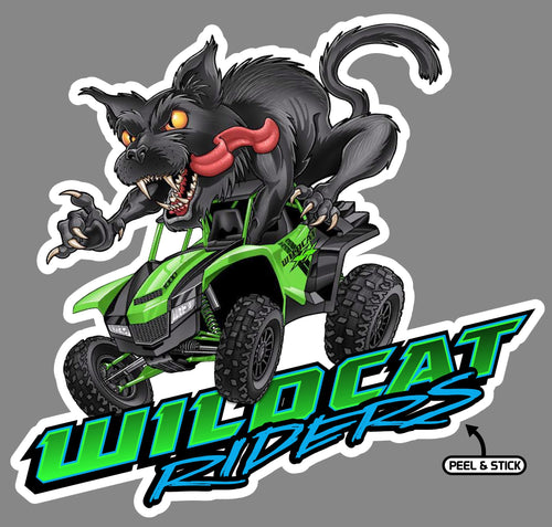 Wicked Wildcat Decals