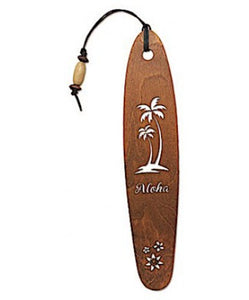 Aloha Palm Wood Bookmark - The Hawaii Store