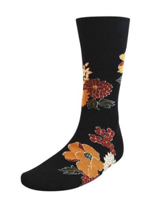 Tori Richard Socks ''Forbidden Black''