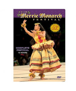 DVD Merrie Monarch 2016 Set - The Hawaii Store