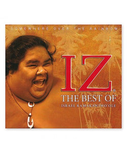 CD Somewhere Over the Rainbow: The Best of Iz - The Hawaii Store
