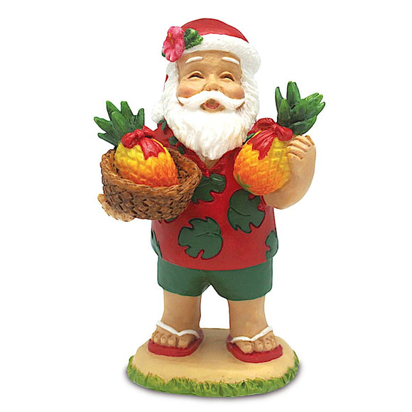 Santa's Bounty Hand Painted Ornament - The Hawaii Store