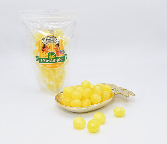 Pineapple Candy -8 oz Bag - The Hawaii Store