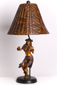 Rattan Lamp ''Aloha'' - The Hawaii Store