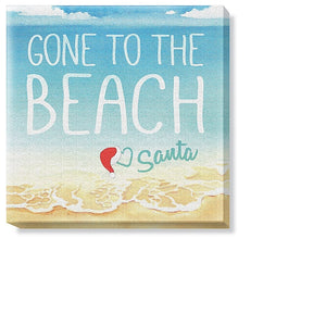 Holiday Canvas Gone To The  Beach - The Hawaii Store