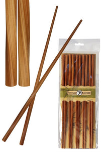 Twisted Bamboo Chopsticks 5/pack - Polynesian Cultural Center