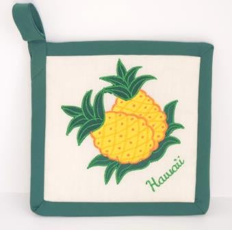 Pineapple Potholder - The Hawaii Store