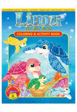 Limu The Blue Turtle: Coloring & Activity Book