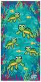 Kids Baby Honu (Turtle) Beach Towel - The Hawaii Store