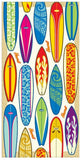 Surfboards Beach Towel