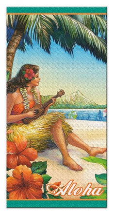 Vintage Hawaii Beach Towel - The Hawaii Store