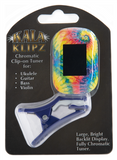 Kala Klips Clip-On Tuner -  Tie Dye - The Hawaii Store