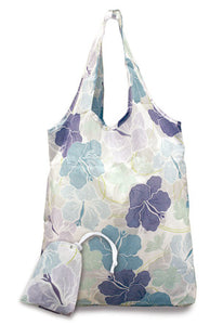 Foldable Tote Bag Modern Hibiscus