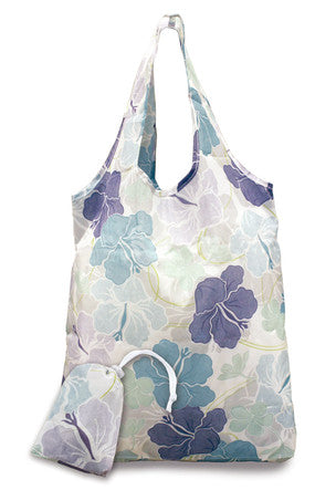 Foldable Tote Bag Modern Hibiscus - Polynesian Cultural Center