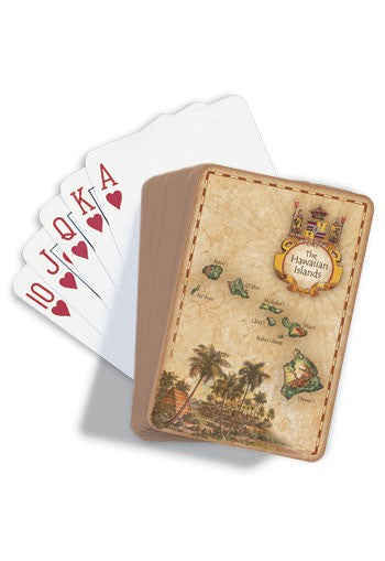 Hawaiian Islands Playing Cards