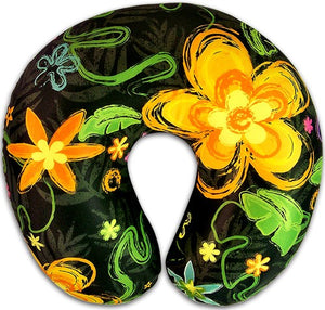 Neck Pillow Pua Brush Island Impressions - The Hawaii Store